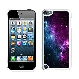 aqiloe diy Colorful Ipod Touch 5 Case Elegant Galaxy Designs Soft TPU Rubber White Cover Accessories