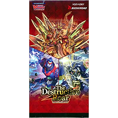 Cardfight Vanguard VGE-V-EB01-EN Destructive Roar Booster Display Box: Toys & Games