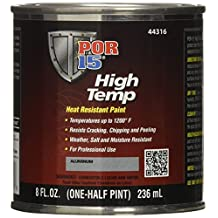 POR-15 44316 Aluminum High Temperature Paint - 8 fl. oz.