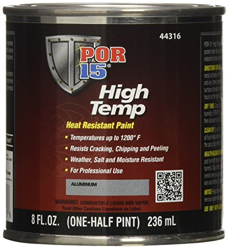Price comparison product image POR-15 44316 Aluminum High Temperature Paint - 8 fl. oz.