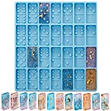 Domino Mold for Epoxy Blue Domino Mold for Resin