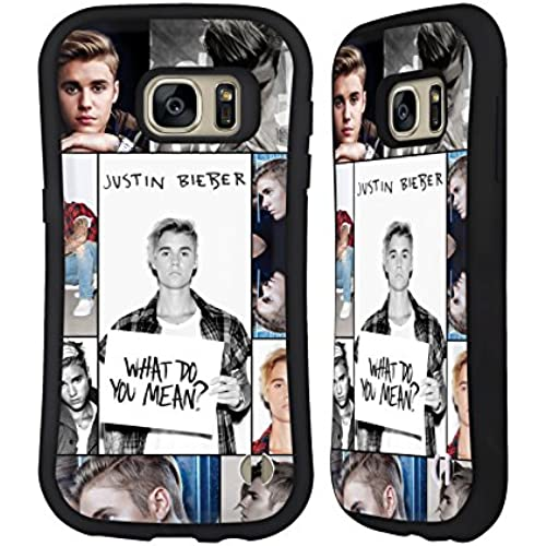 Official Justin Bieber Grid Poster Purpose Hybrid Case for Samsung Galaxy S7 Sales