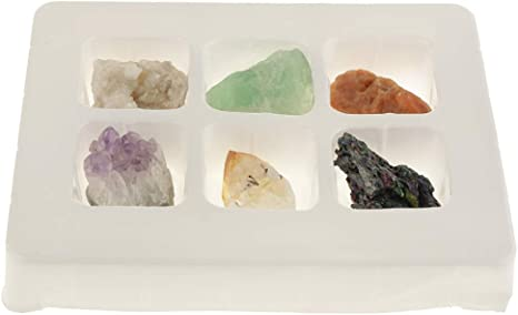 Natural Rock /& Mineral Quartz Collection Crystal Gift Geology Science Toys