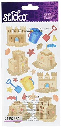 Sticko Classic Stickers-Sand Castles - Classics Sand Castle