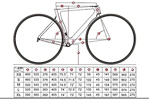 Cuadro de bicicleta Cuadro De Bicicleta De Carretera Frenos De ...