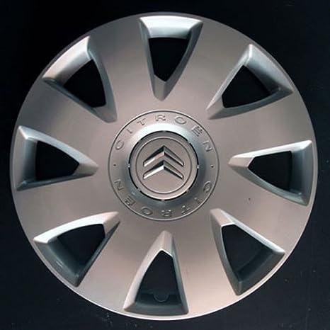 Set of 4 New Wheel Trims for Citroen C4 / C1 / C2 / C3 / C5 / C8 / Nemo/Berlingo / Xsara Picasso/Jumpy with Original Rims in 16 Inches: Amazon.es: Coche y ...