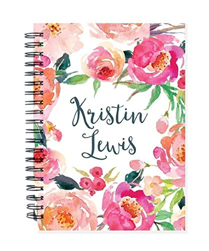 2019 24 month personalized monthly planner notebook, 2 year calendar, start any month