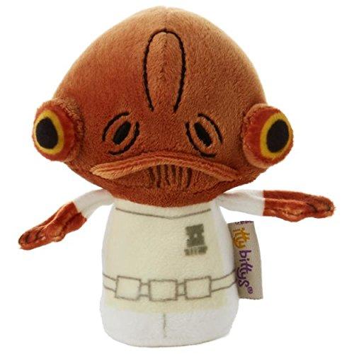 itty bittys Star Wars Admiral Ackbar Stuffed Animal Itty Bittys Just Because Movies & TV