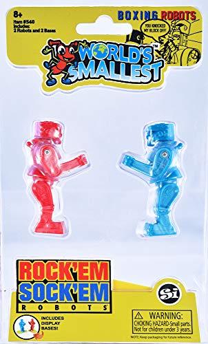 Worlds Smallest Rock 'Em Sock 'Em Robots from Worlds Smallest