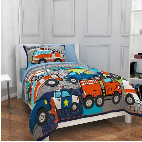 Fire Truck Bed Sheets
