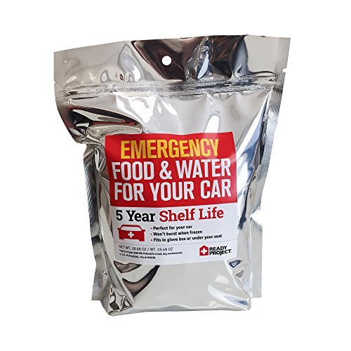 Emergency Food & Water For Your Car - Live Life Ready, On the Go, Wherever You Go