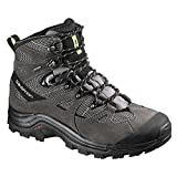 Salomon Men's Discovery GTX Backpacking Boot, Detroit/Autobahn/Turf Green, 11.5 D US