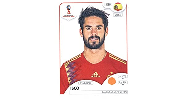PANINI road to UEFA EURO 2016-STICKER 92-ISCO