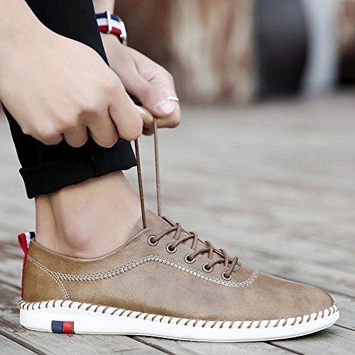 alta scarpe di alla L'uomo vettura qualit della Skid Casual Scarpe guida wOzZq0