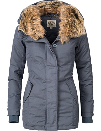 Sublevel Donna Giacca Sublevel Giacca Dunkelblau 5Oqa0w