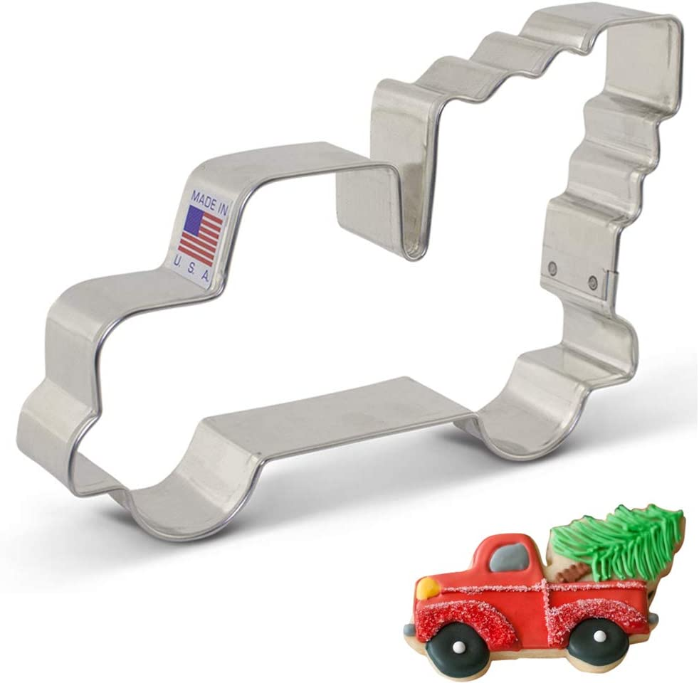Truck with Pumpkin Cookie Cutter 5/'/' NEW!