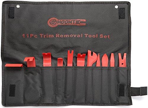 Price comparison product image Shoontik Auto Removal Tool - 11 pcs Nylon Tool Kit - Door Panel - Window Trim - Car Upholstery - Dash Removal Set