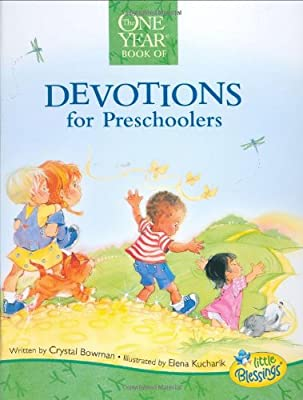The One Year Devotions For Preschoolers Little Blessings Line from Tyndale Kids