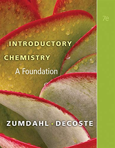 Introductory Chemistry: A Foundation (Available Titles OWL)