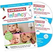 Surviving Infancy - The Ultimate Video Guide to Baby and Toddler Emergencies, Common Illnesses, Safety & More! 2 DVD Set