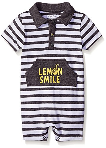 Absorba Baby-Boys Lemon Smile Romper