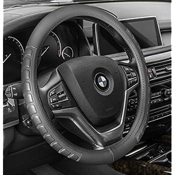 Amazoncom RedlineGoods LeatherAlcantara Steering Wheel Cover - Acura rsx steering wheel cover