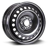 #10: Steel Rim 16X6, 5X108, 63.5, +50, black finish (MULTI APPLICATION FITMENT) X40838
