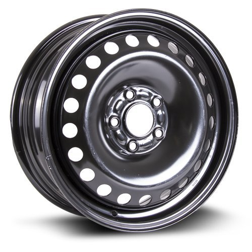 Steel Rim 16X6, 5X108, 63.5, +50, black finish (MULTI APPLICATION FITMENT) X40838
