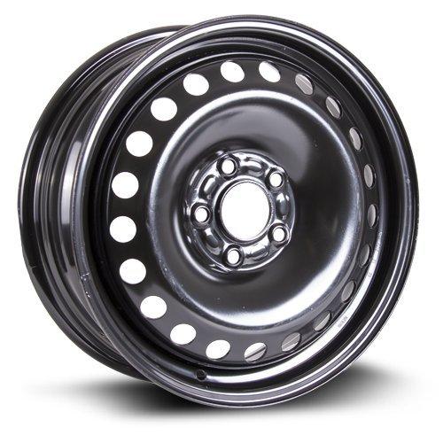 Steel Rim 16X6, 5X108, 63.5, +50, black finish (MULTI APPLICATION FITMENT) X40838 RTX WHEELS