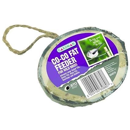 De coco coco grasa comedero para pájaros salvajes jardín regalos y accesorios AVN