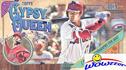 2019 Topps Gypsy Queen Baseball Factory Sealed HOBBY Box with TWO(2) AUTOGRAPHS & CHROME Box Topper! Look for Autographs, Memorabilia, Parallels, Short Prints, Inserts, Mini Cards & More! WOWZZER!