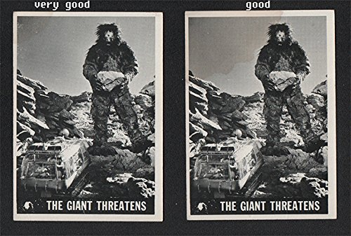 1966 Topps Lost In Space (Non-Sports) card#49 The Giant Threatens of the Grade Excellent from Topps