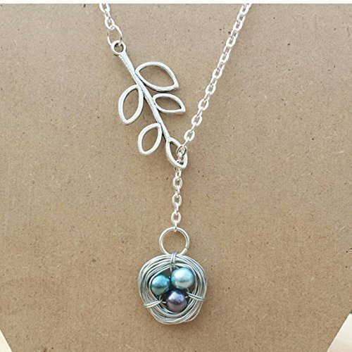 Birds Nest Mothers Necklace (Nest Bird Necklace)