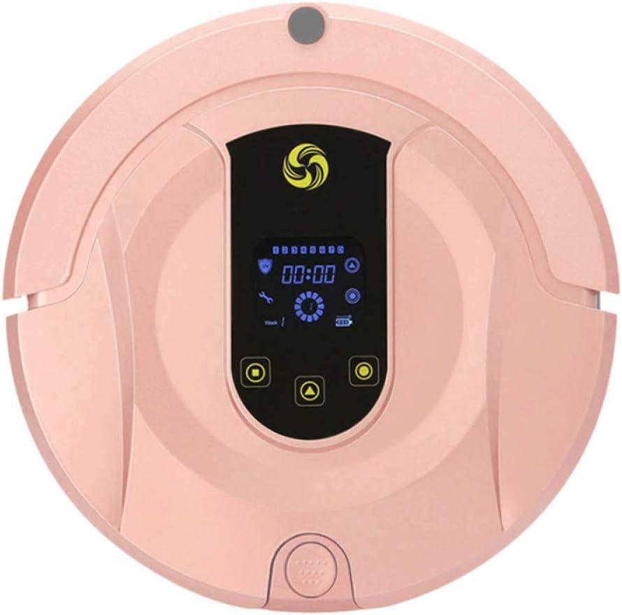 ZLAHY Robot de Limpieza Aspirador Robot Inteligente para el hogar Aspirador robótico inalámbrico de Ruta planificada Barredora de Carga automática húmeda y Seca, Color de Foto: Amazon.es: Hogar