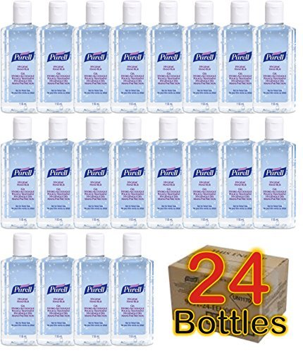 24 x Purell Hygenic Hand Sanitizer Gel / Rub 118ml 4oz Personal Pump Bottles Used by Hospitals by Purell (Image #2)