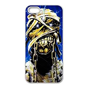 iPhone 4 4s Cell Phone Case White Iron Maiden igsq
