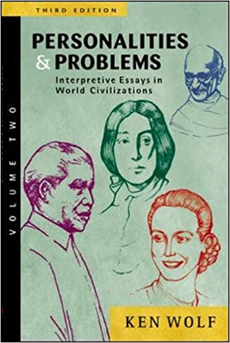 com personalities problems interpretive essays in  2 personalities problems interpretive essays in world civilization volume ii 3rd edition