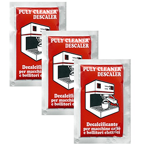 Puly / Puly Caff Cleaner Descaler Espresso Machine Cleaner -Three 30g Packet