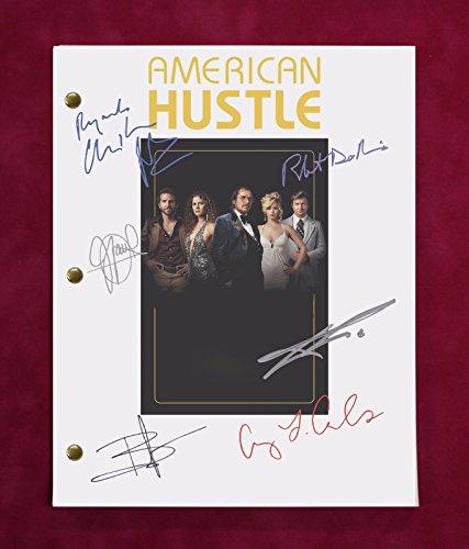 American Hustle Movie Script w/Reproduction Signatures Bale, Adams, Cooper C3