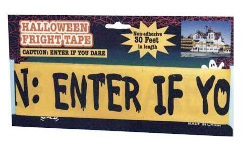 5 Halloween Freight Tape: Haunted House: Colors Vary