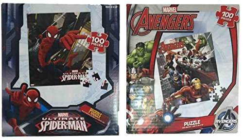 Spider-Man and Avengers Puzzle 2 Pack