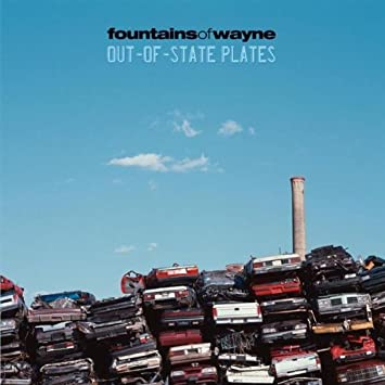 amazon out of state plates dig fountains of wayne ポップス