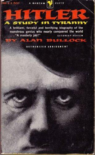 0060802162 - Alan Bullock: Hitler: A Study in Tyranny - Buch