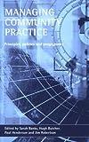 Managing Community Practice, , 1861343566