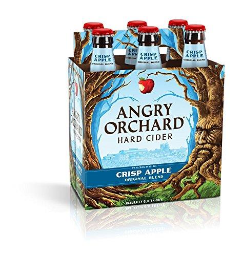 Angry Orchard Crisp Apple Hard Cider, 6 pk, 12 oz bottles, 5% ABV