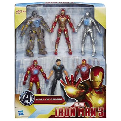 Marvel Iron Man 3 Marvel Hall of Armor Collection Action Figure: Toys & Games
