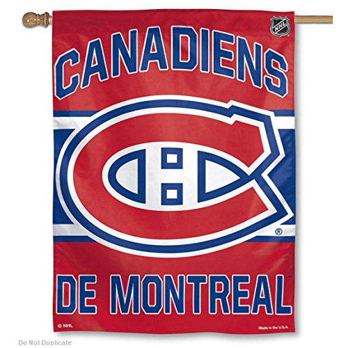 WinCraft Montreal Canadiens NHL 27''x 37'' Banner,blue by WinCraft