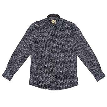 99 Multi Color Cotton Shirt Neck Shirts For Men