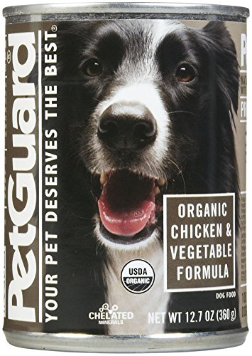 PetGuard Organic  & Vegetable Entree – Adult – 12×12.7oz For Sale