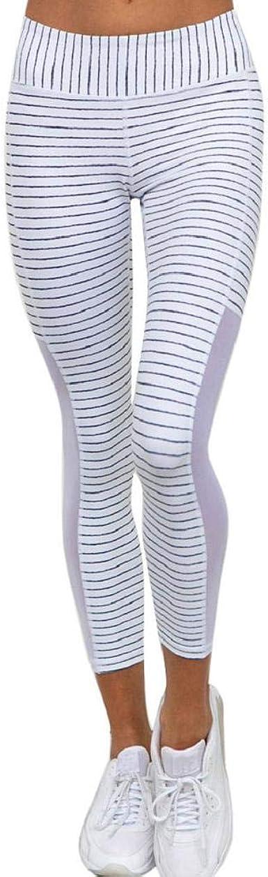 SHOBDW Pantalones Deportivos Las Mujeres De Cintura Alta ...
